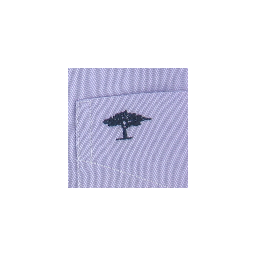 New 2017 Fynch-Hatton Shirt - Plain Lilac Fine Oxford - Size M Only