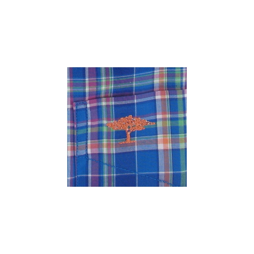 New 2017 Fynch-Hatton Shirt - Multicoloured Check  - 2XL Only