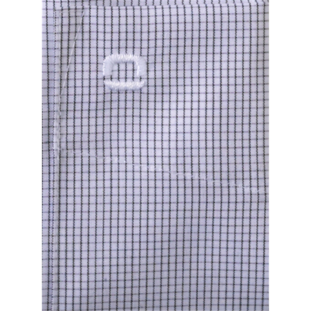 Olymp Modern Fit Shirt - Anthracite Neat Check