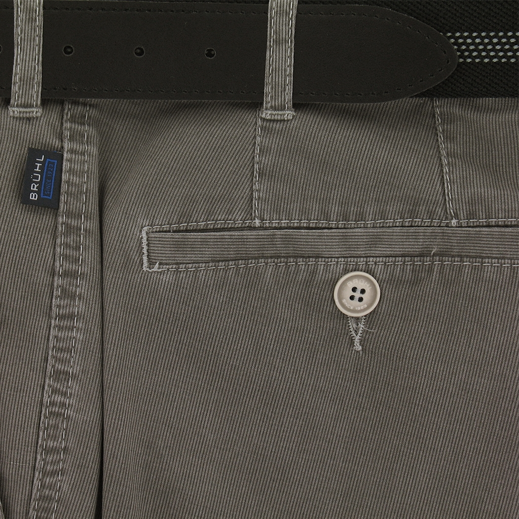New 2018 Bruhl Summer Cotton Trouser - Montana - Taupe - 182509 560