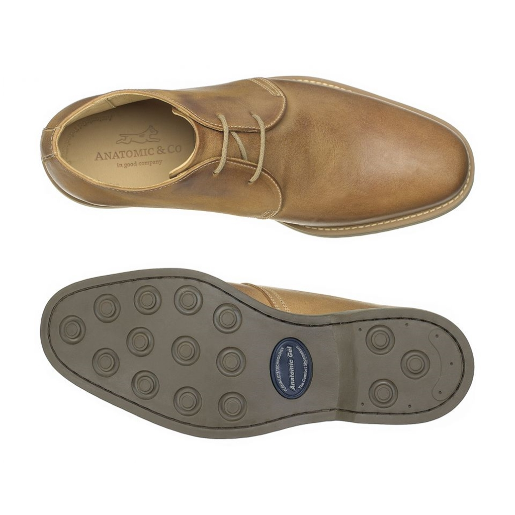 Anatomic & Co New Colorado Shoes - Castor Brown