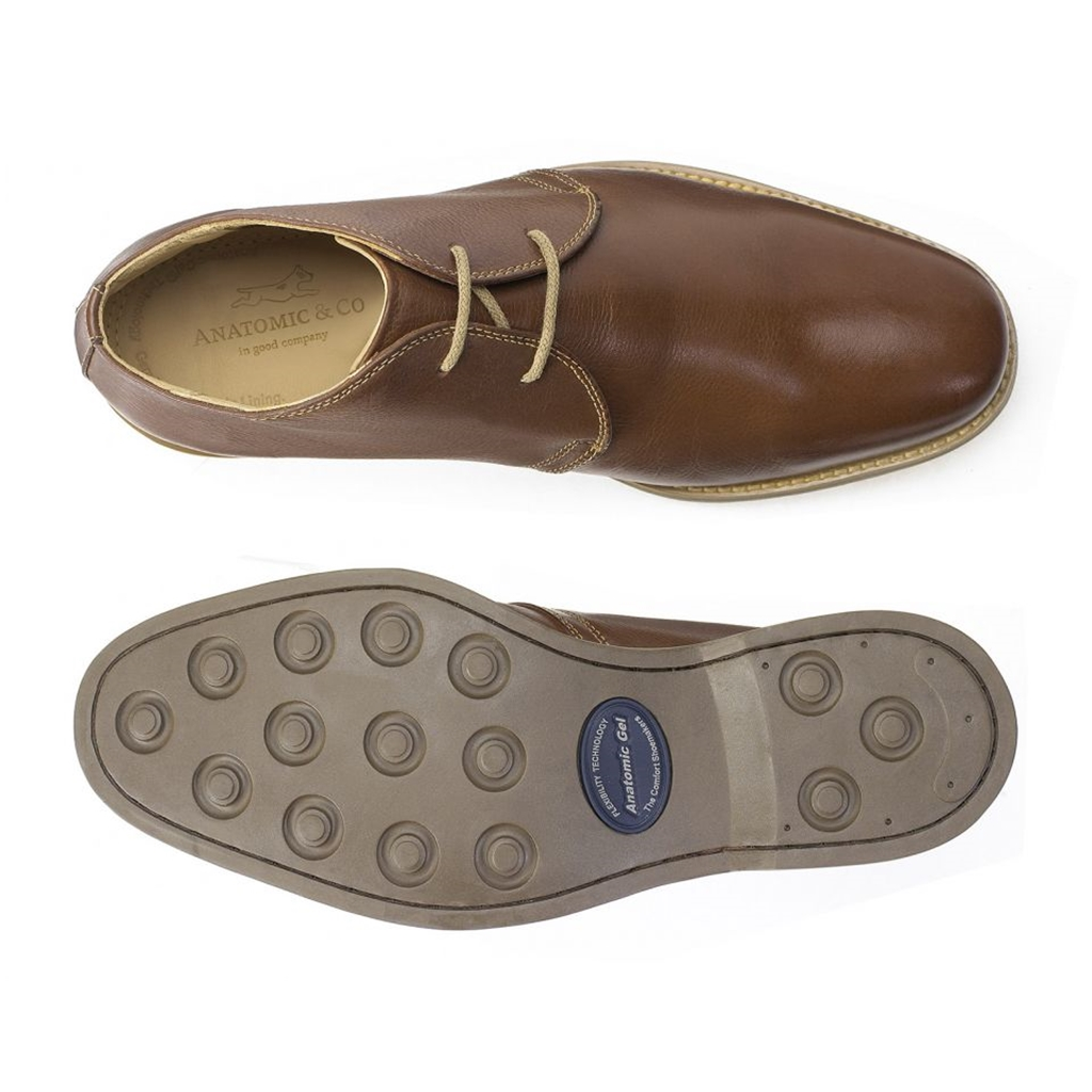 Anatomic & Co New Colorado Shoes - Vintage Pinhao Brown
