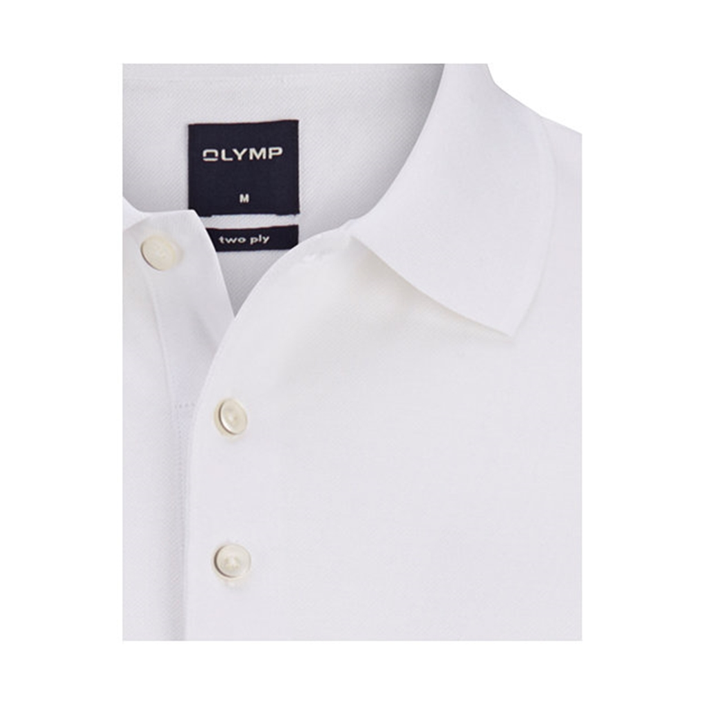 Olymp Polo - Modern Fit - White