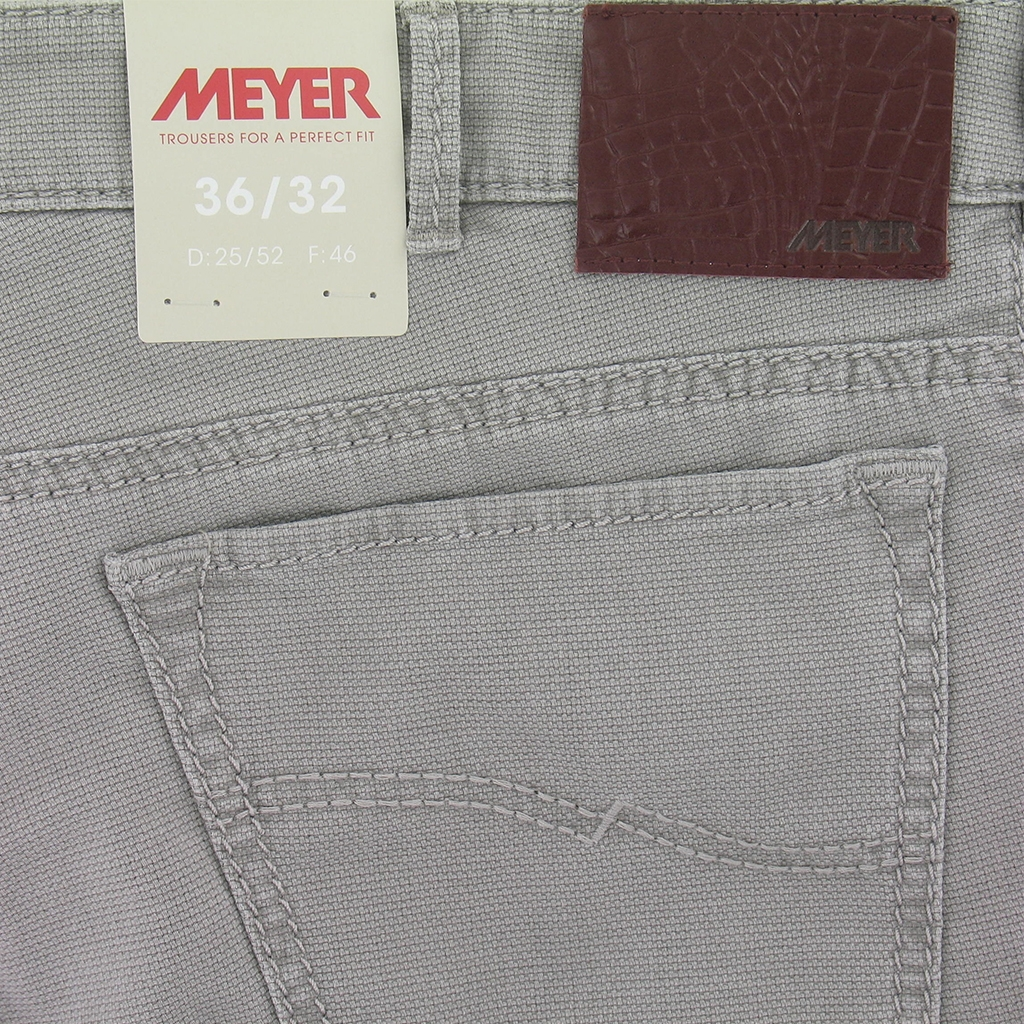 New 2017 Meyer Cotton Jean - Stone - Slim Fit