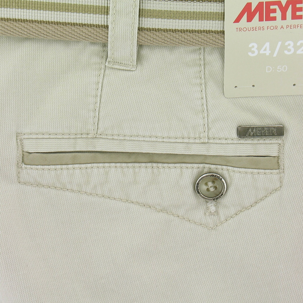 New 2017 Meyer Cargo Shorts - Beige - 32'' Waist Only