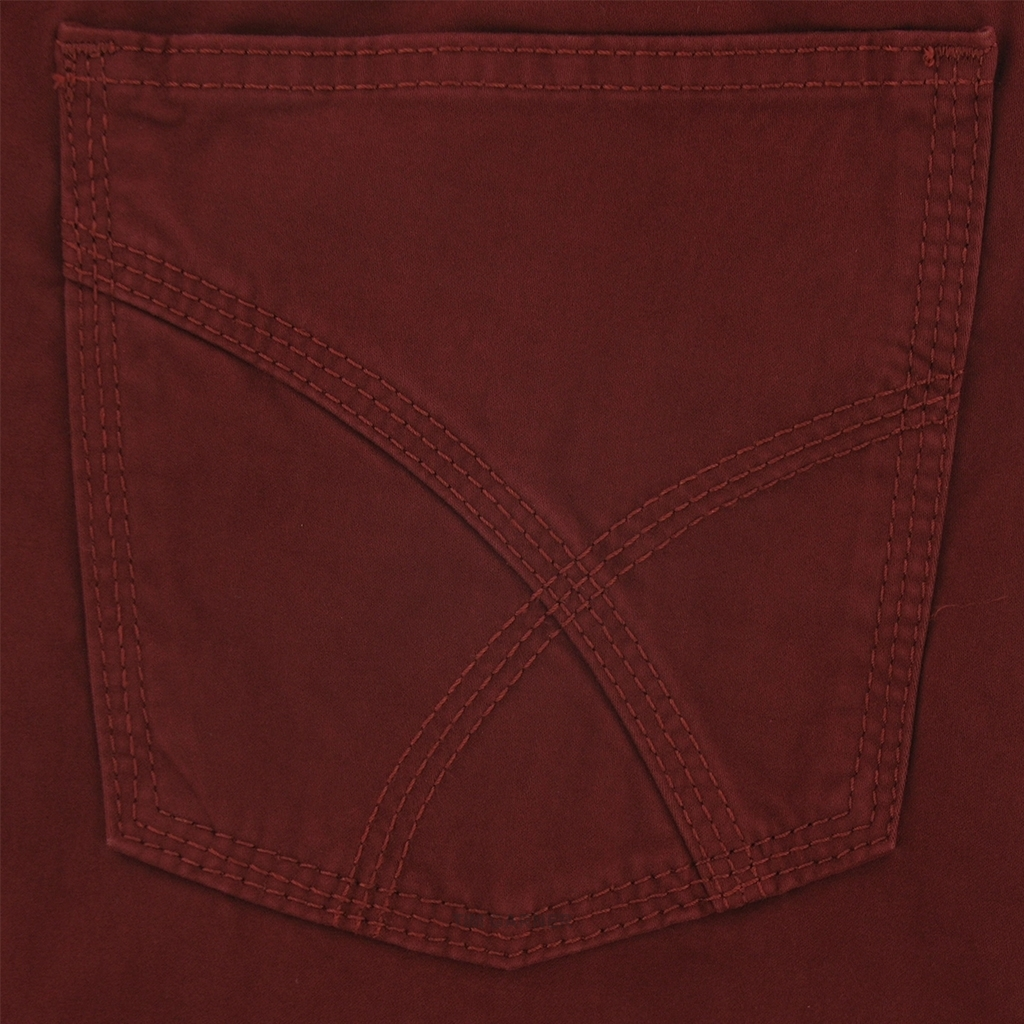New 2017 Brax Five Pocket Trouser Fine Cotton - Red