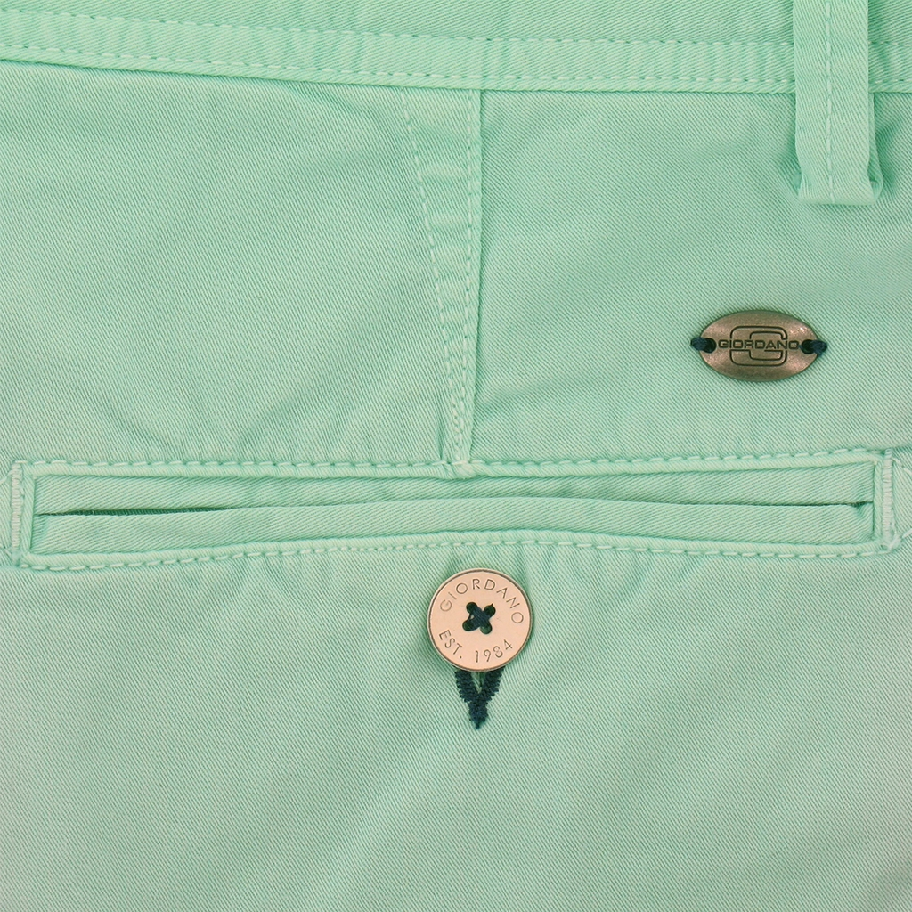 New 2018 Giordano Cotton Shorts - Mint