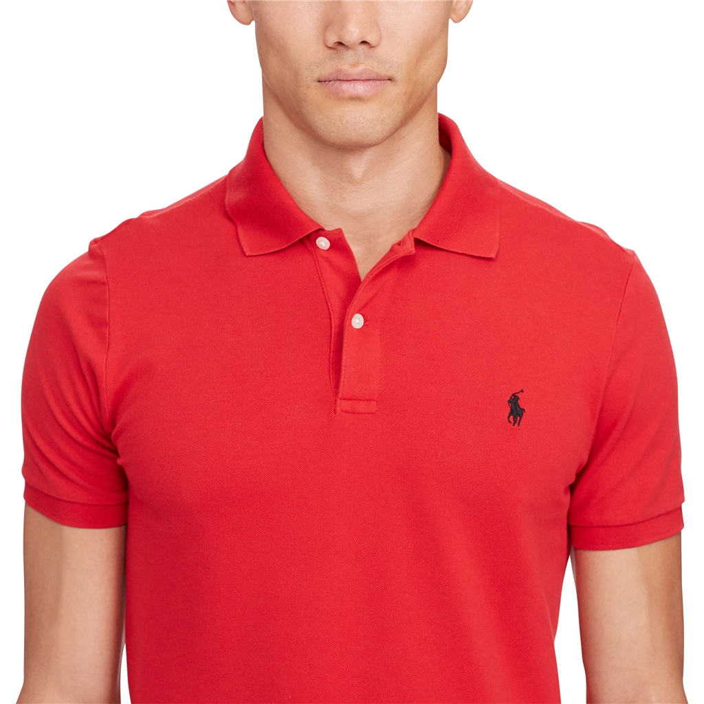 New 2017 Ralph Lauren Pro-Fit Polo - Red