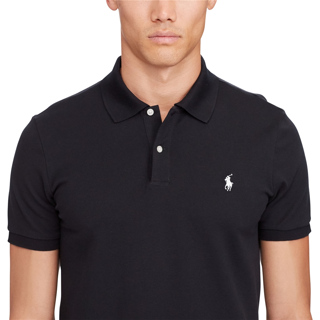 New 2017 Ralph Lauren Pro-Fit Polo - Black