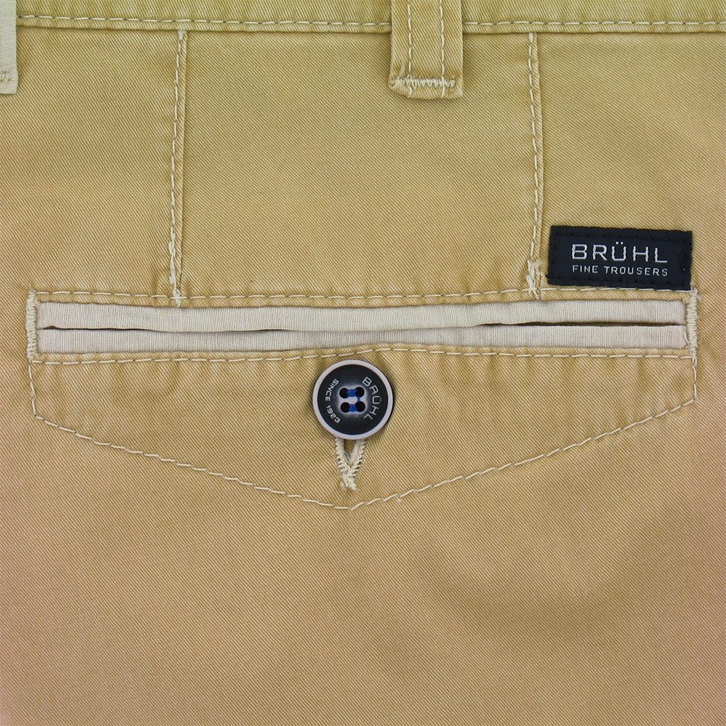 New for 2017 Bruhl Cotton Shorts Sand - Online Exclusive