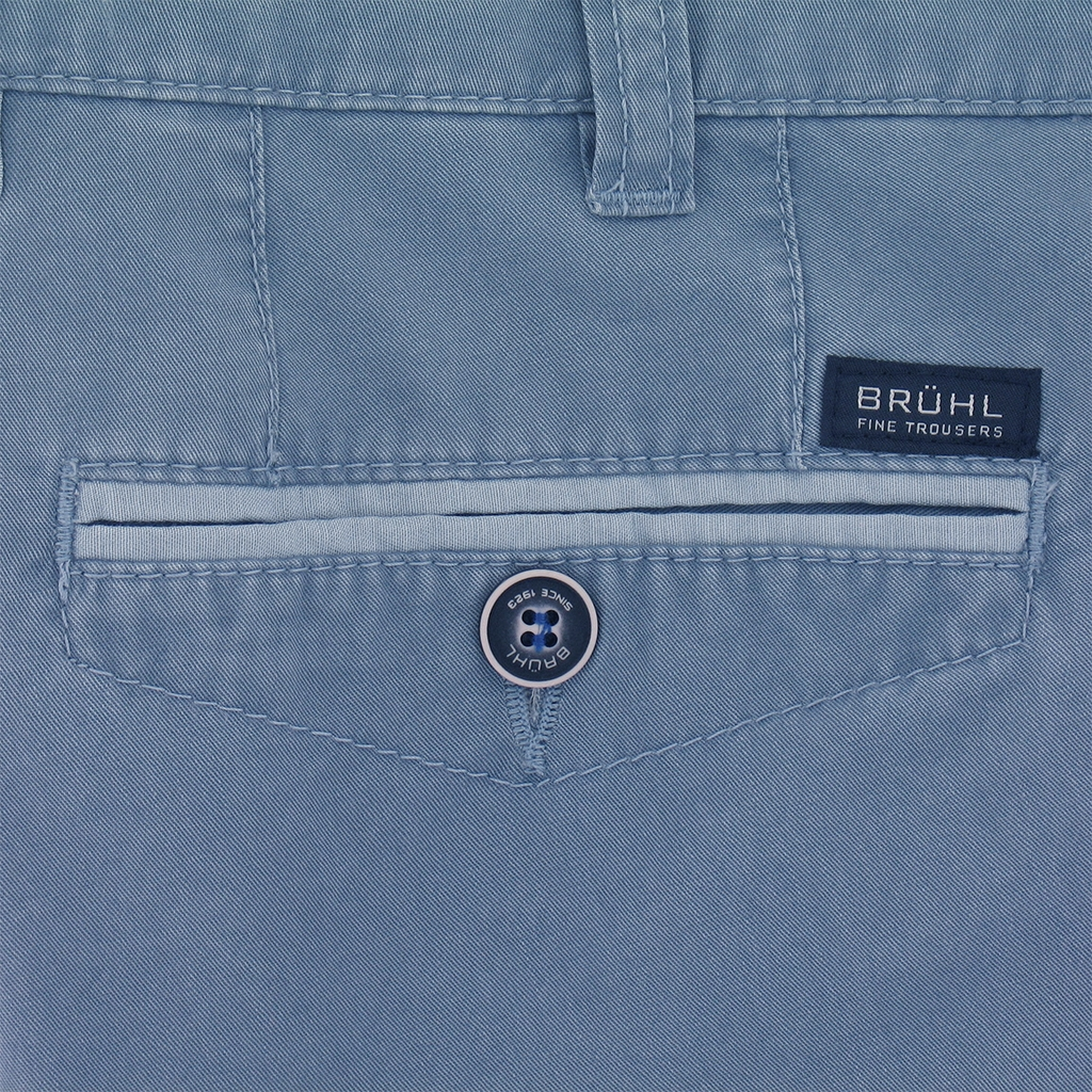New for 2017 Bruhl Cotton Shorts Light Blue - Online Exclusive