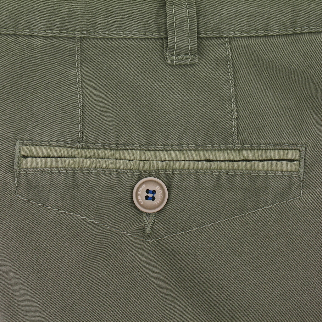 New for 2017 Bruhl Cotton Shorts Green - Online Exclusive