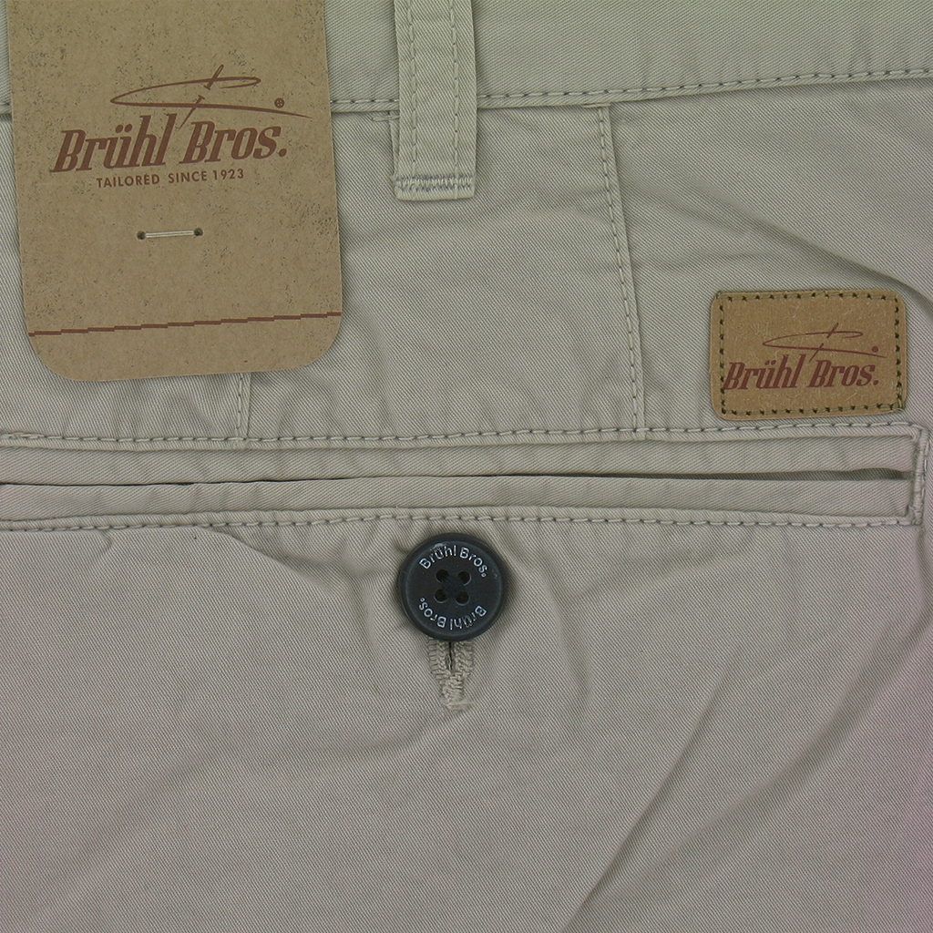 New for 2017 Bruhl Porto Cotton Shorts - Taupe