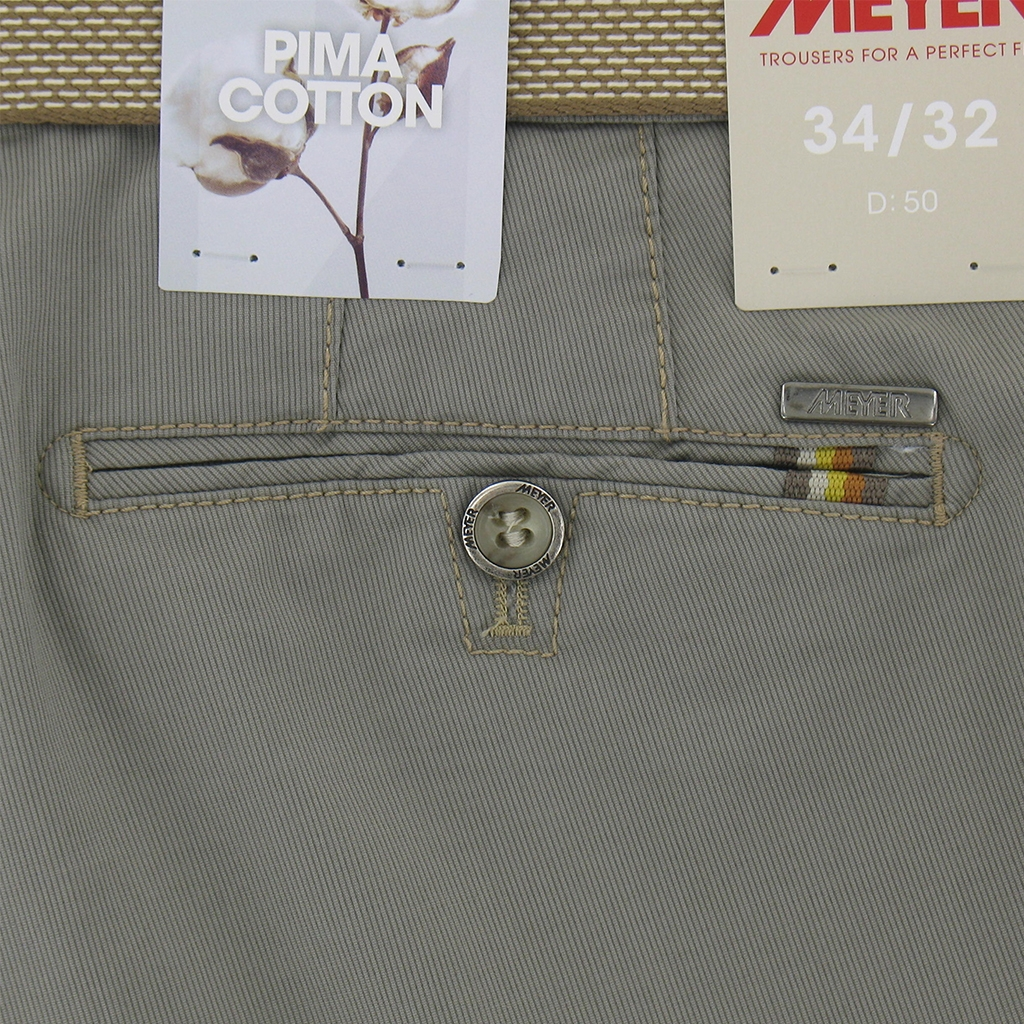 "New 2017 Meyer Shorts Luxury Cotton - Taupe - Online Exclusive - Size 44"" Only"