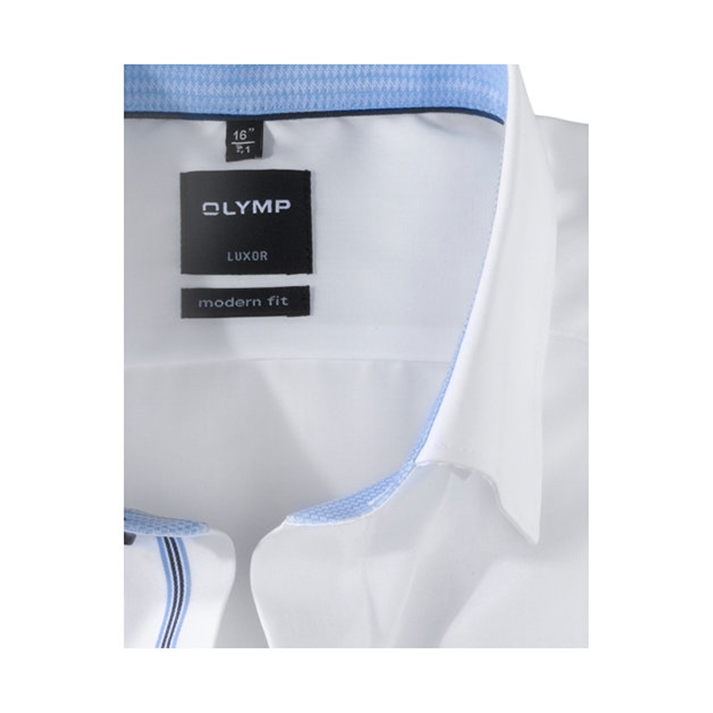 Olymp Comfort Fit Shirt - Blue - 0540 64 11