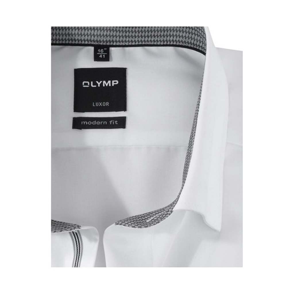 Olymp Comfort Fit Shirt - White - 0530 64 00