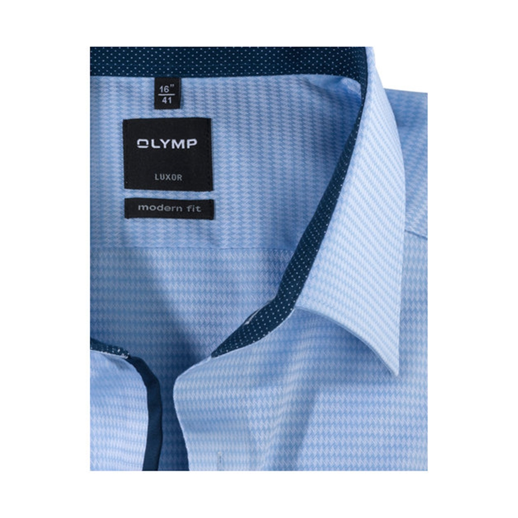 Olymp Comfort Fit Shirt- New Kent - Blue - 0533 64 11