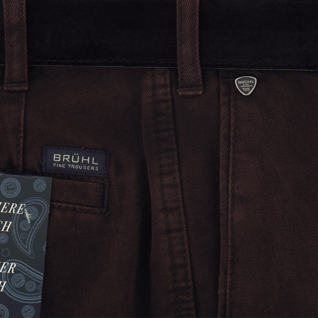 Autumn 2017 Bruhl Luxury Cotton Trouser - Wine - Montana 182310 870