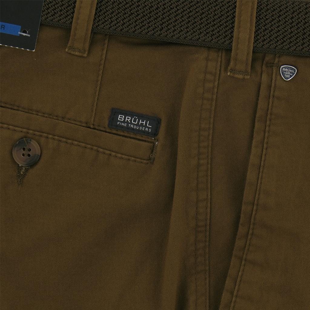 Autumn 2017 Bruhl Cotton Trouser - Tan - Montana 180000 560
