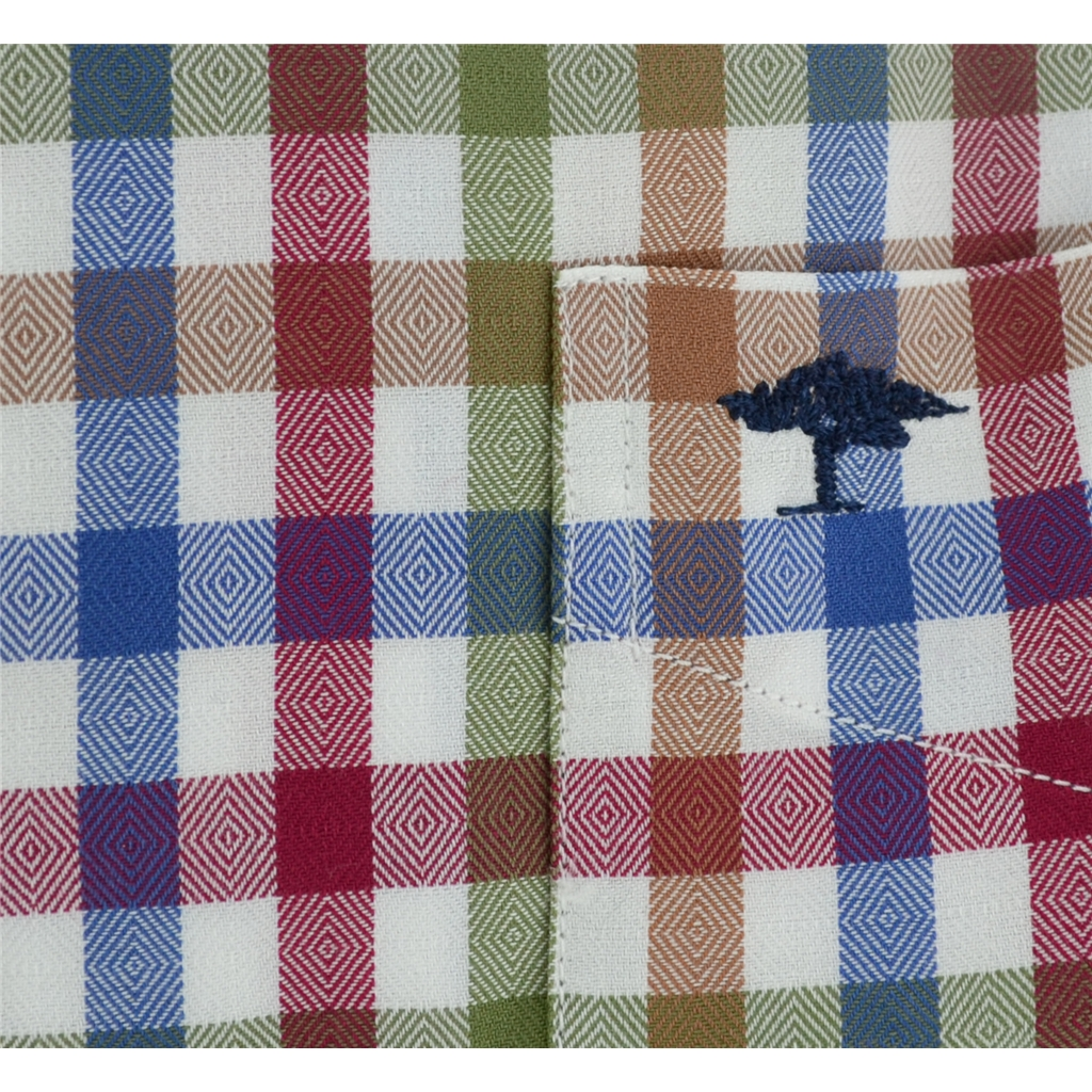 Autumn 2017 Fynch-Hatton Shirt - Mauve Cactus Check