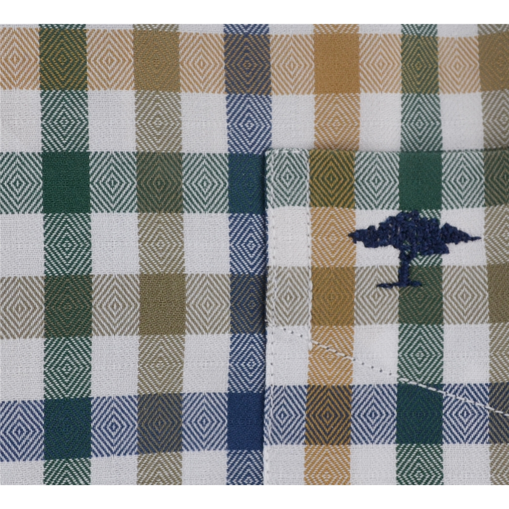 Autumn 2017 Fynch-Hatton Shirt - Loden Saffron Check