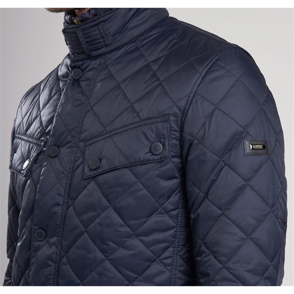 Autumn 2017 Barbour International Windshield Jacket - Navy