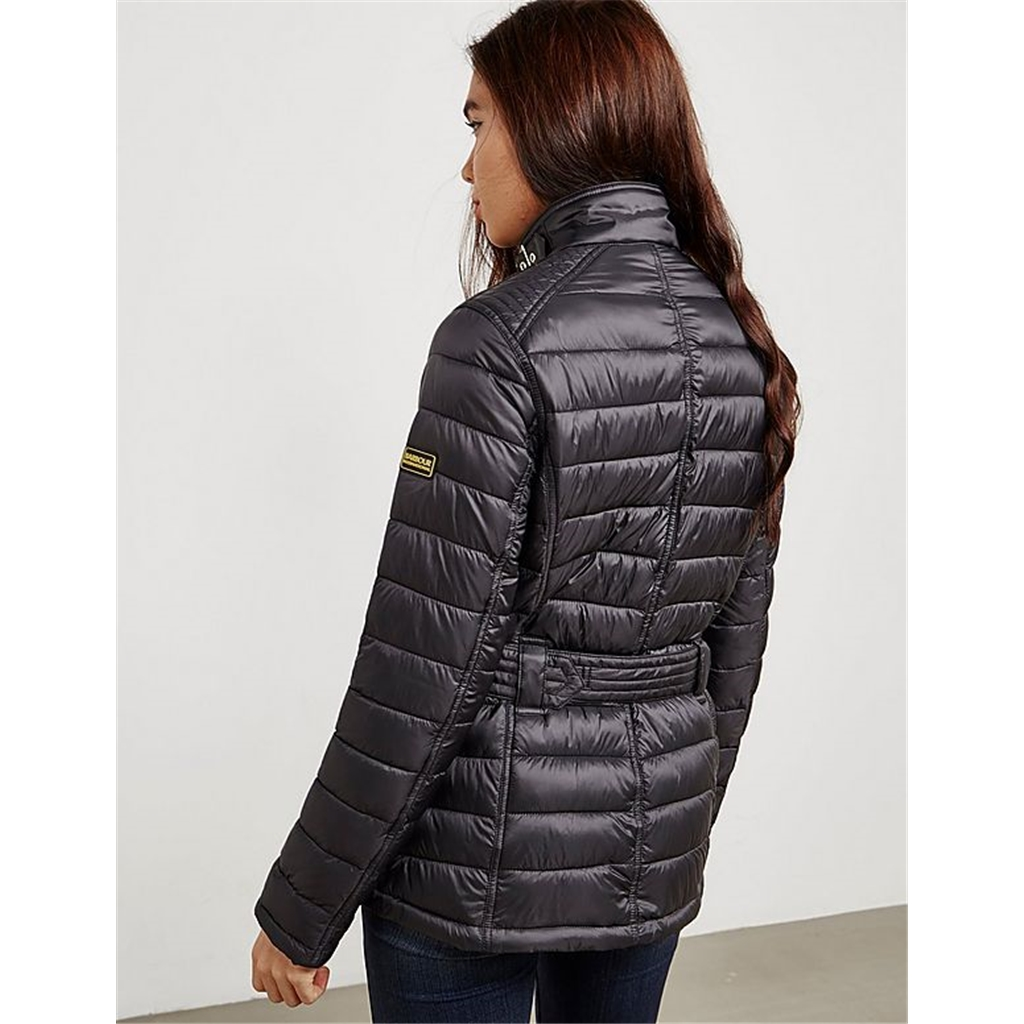Autumn 2017 Women's Barbour International Cadwell Quilted Jacket - Black