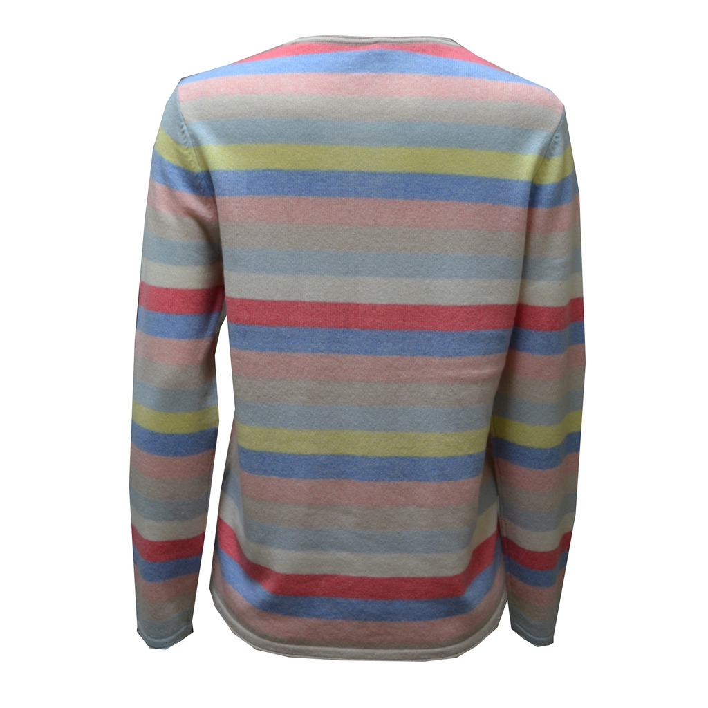Cashmere Stripe Jumper - Multi