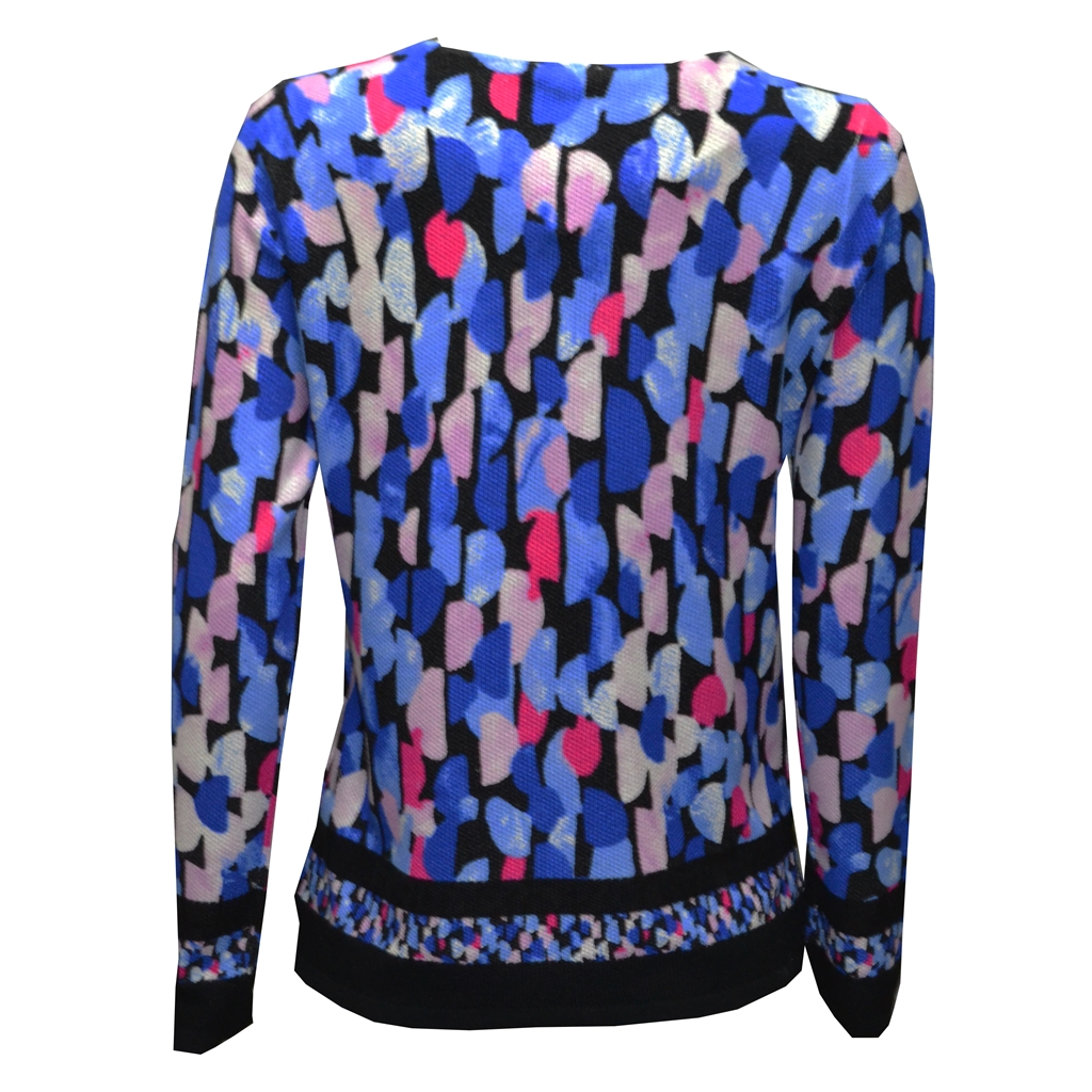 Electric Vibes Long Sleeve Top