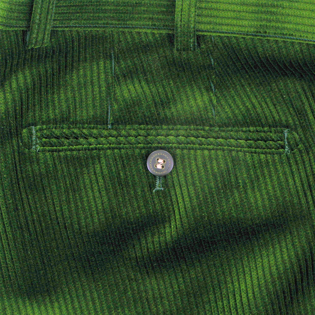 Meyer Trousers Luxury Cotton Corduroy - Apple Green - Style Rio