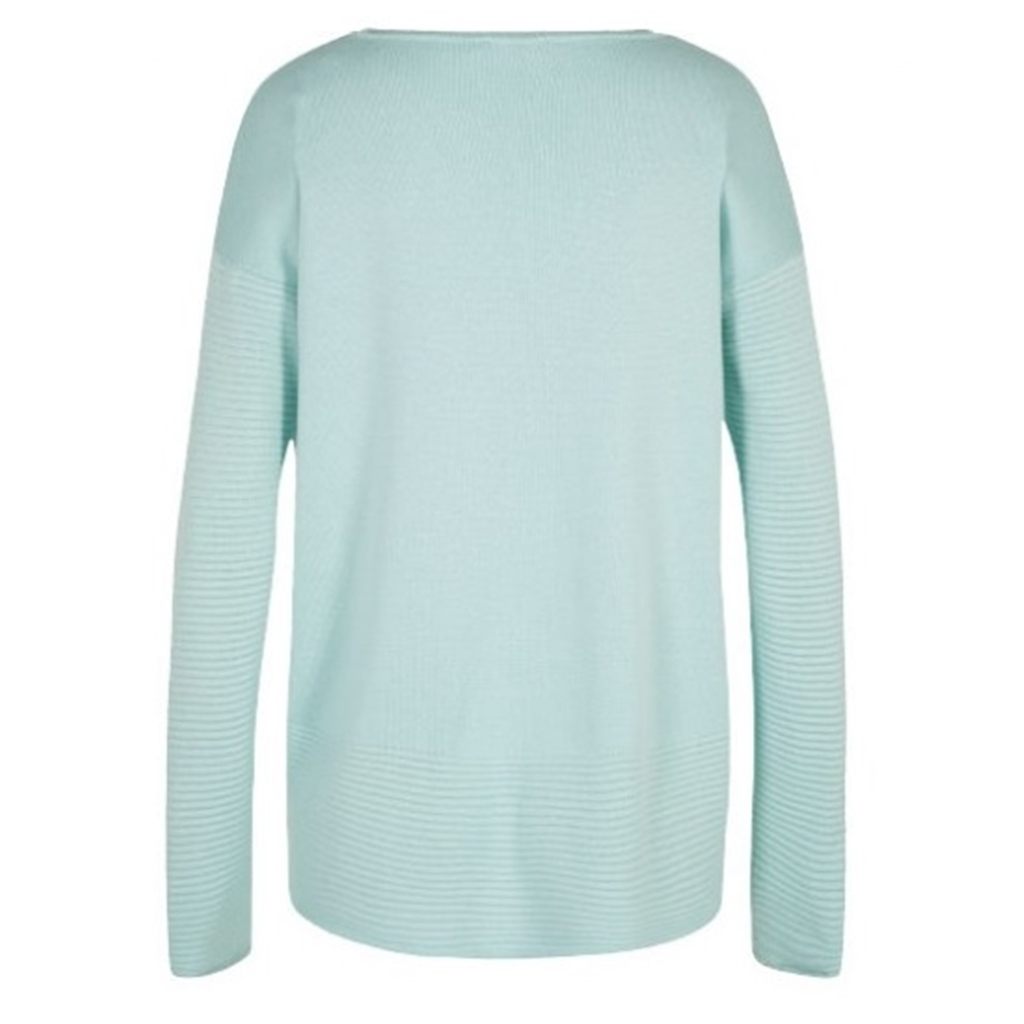 Olsen Ribbed Knit Jumper - Mint