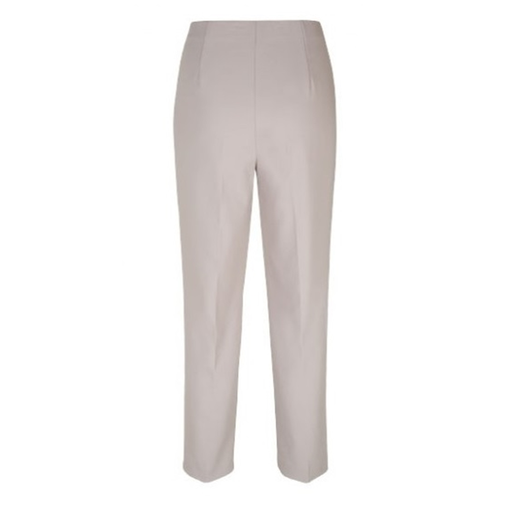 Olsen Mona Straight leg Trousers - almond