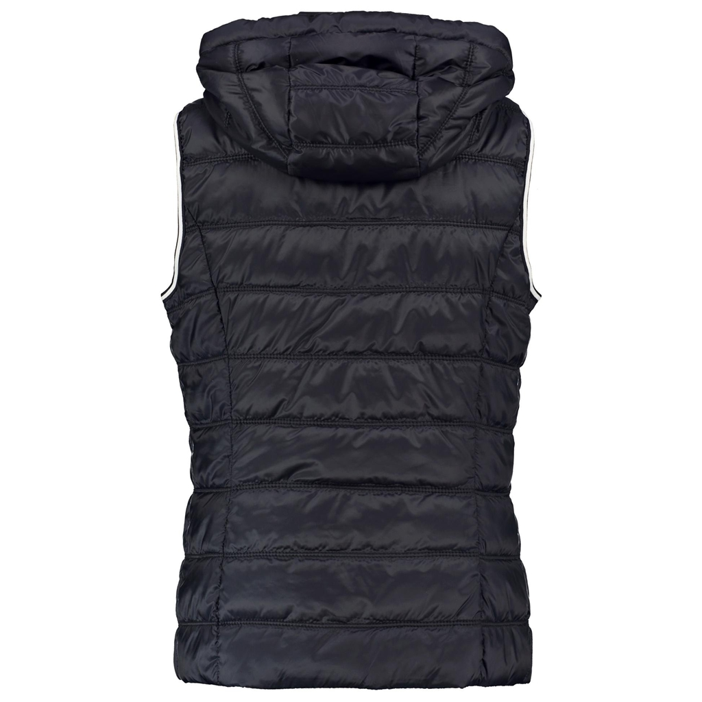 New 2018 Taifun Quilted Body Warmer with a Hood - Marine