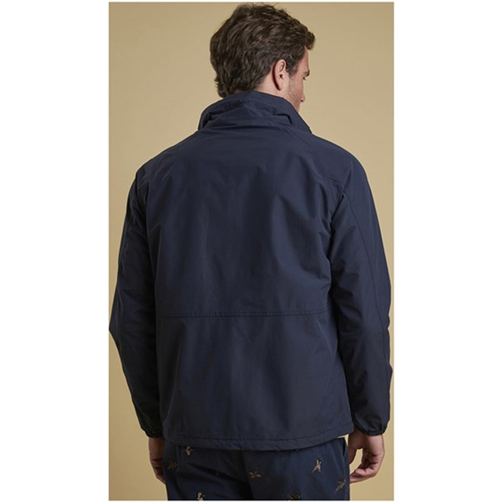New 2018 Barbour Men's Dee Jacket - Navy
