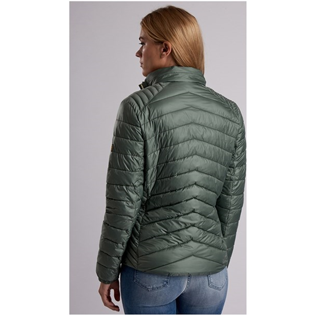 New 2018 Barbour Women's International Triple Quilt - Kharki