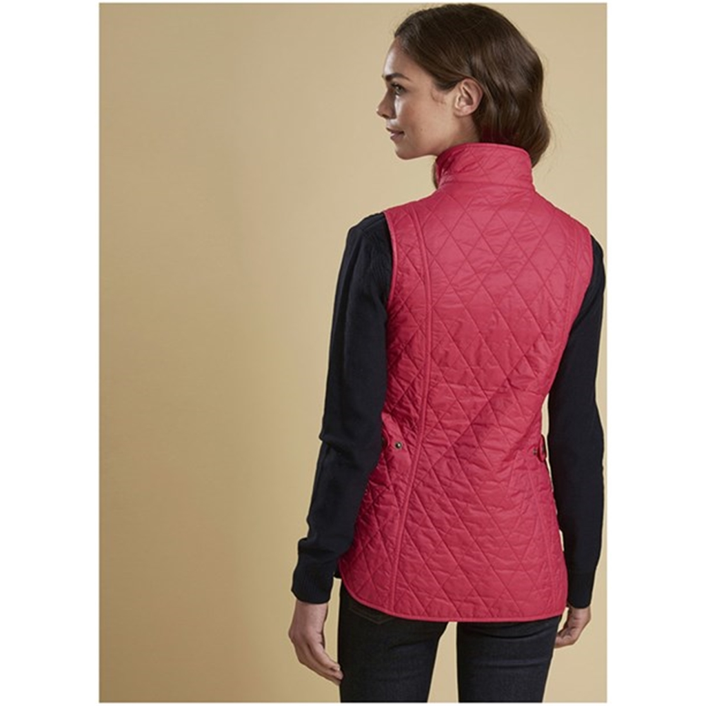 New 2018 Barbour Women's Otterburn Gilet - Raspberry