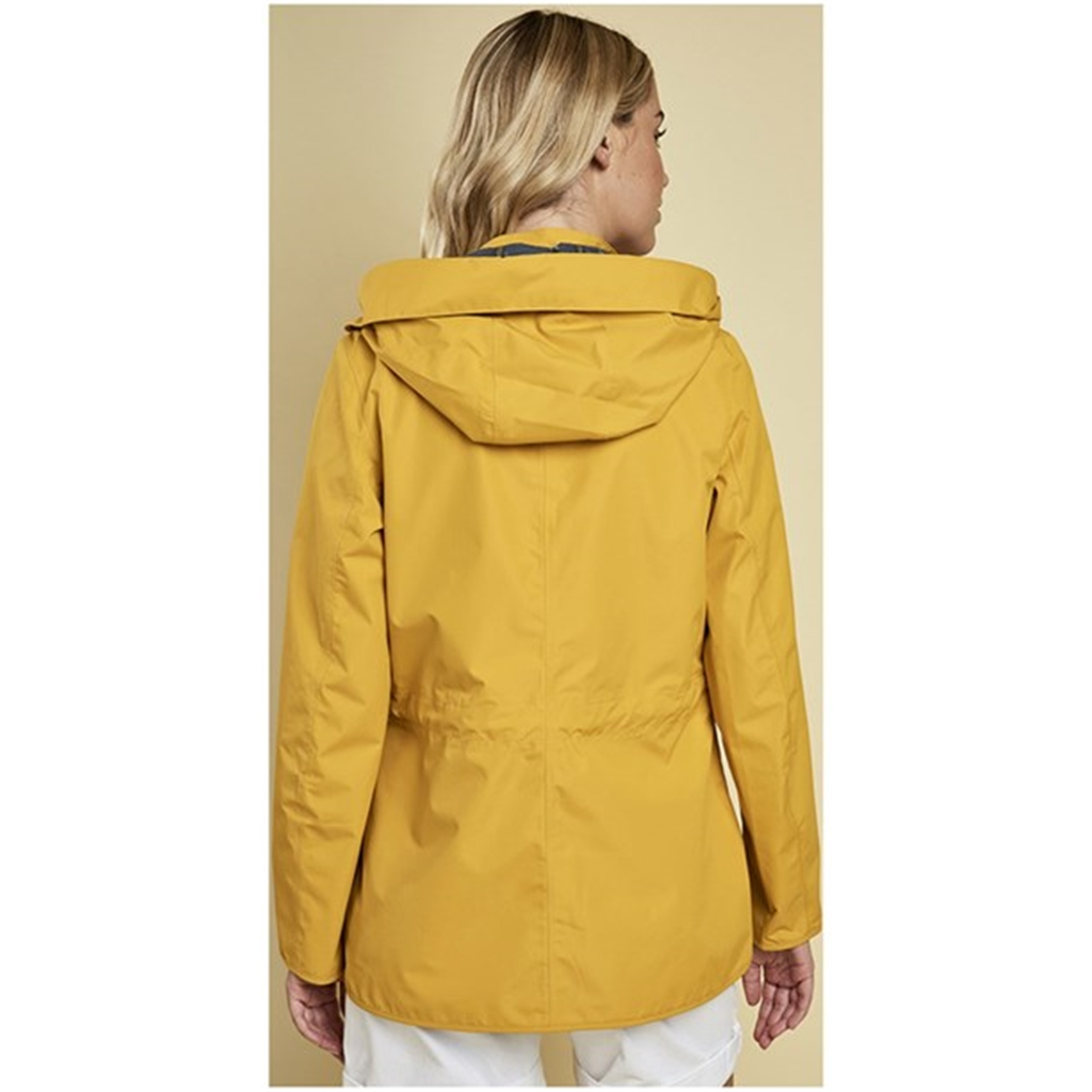 New 2018 Barbour Women's Barometer Waterproof Jacket - Canary Yellow