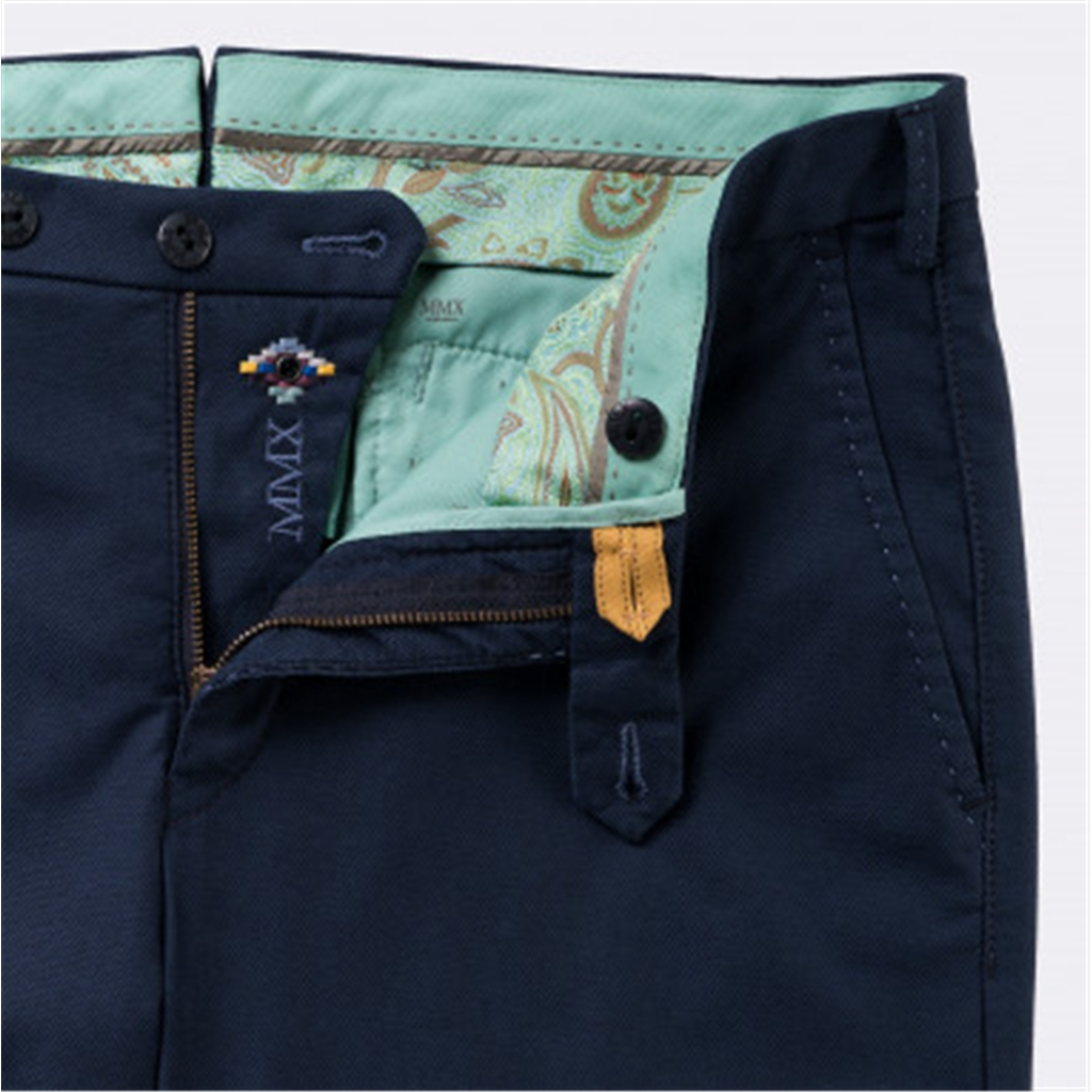 New 2018 Meyer MMX Trouser - Cotton - Navy