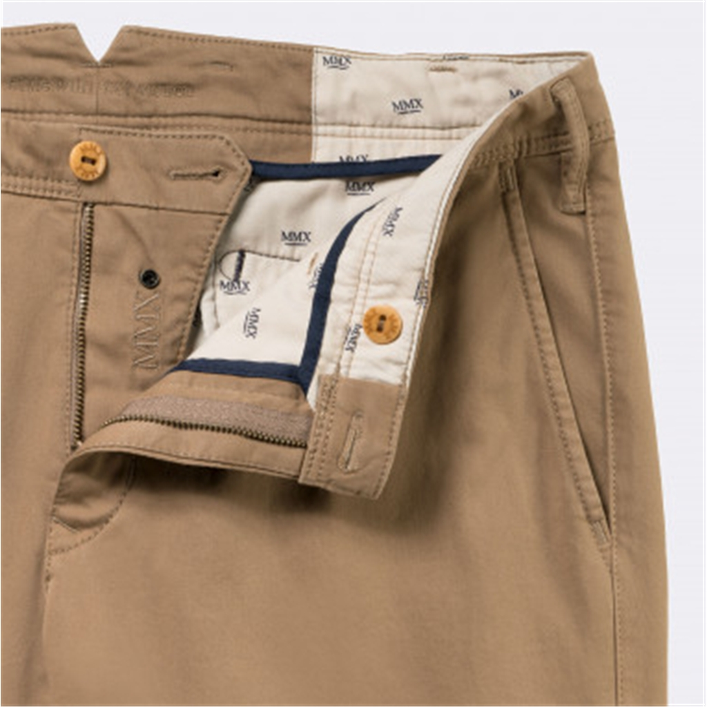 New 2018 Meyer MMX Trouser - Cotton - Sand