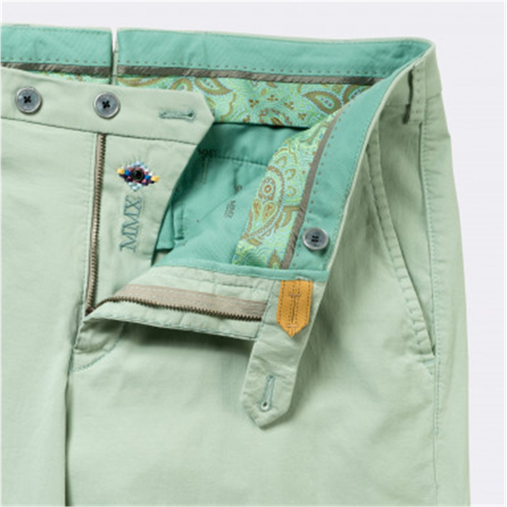 New 2018 Meyer MMX Trouser - Cotton - Mint