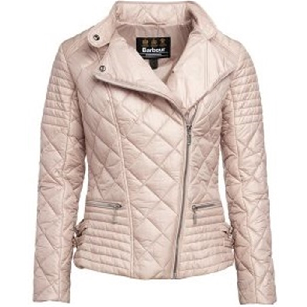 New 2018 Barbour Women's International Wyvis Jacket - Light Pink