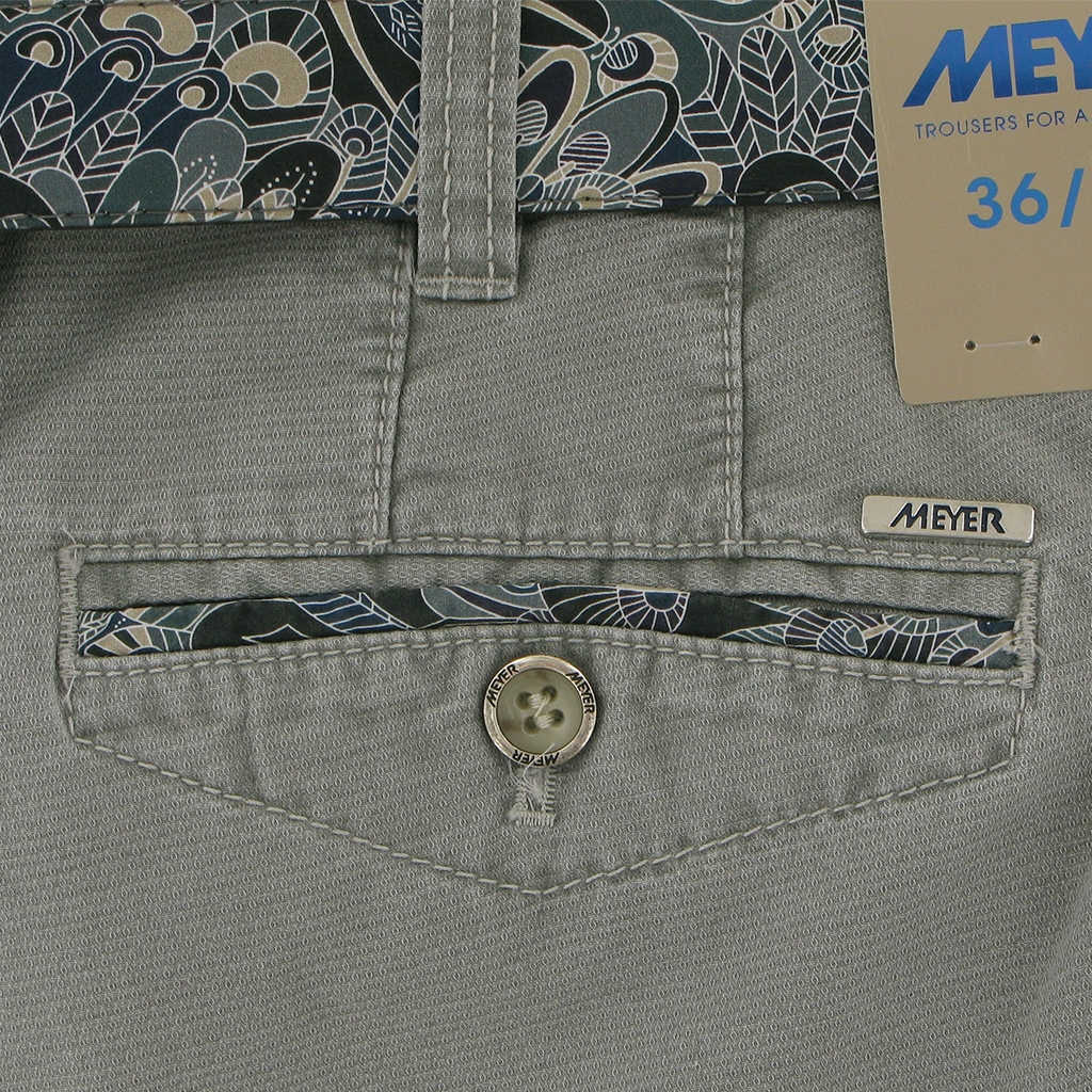 New 2018 Meyer Trouser Cotton - Putty - Chicago 5005 35