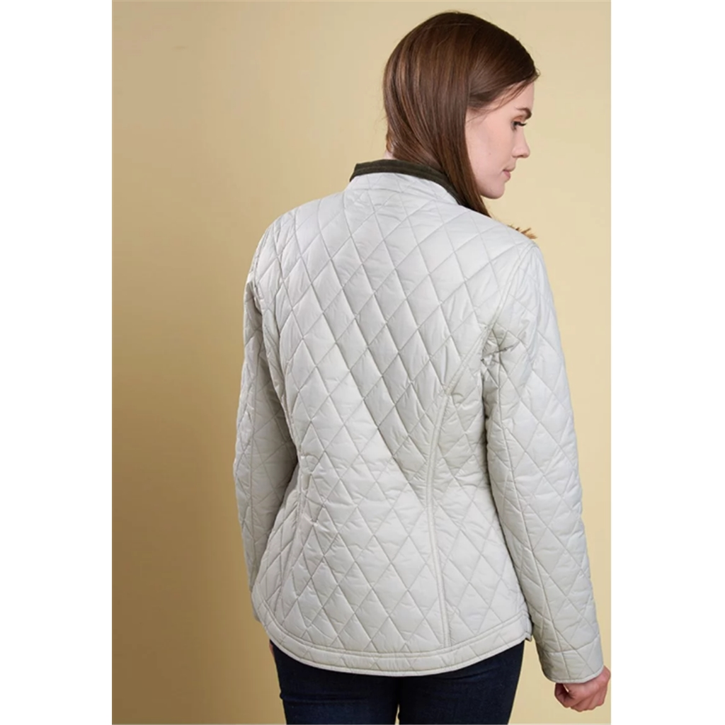 New 2018 Barbour Women's Rachel Quilted Jacket - Mist