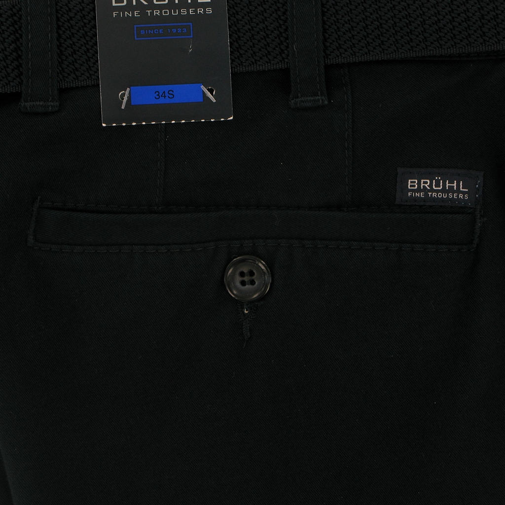 New 2018 Bruhl Cotton Trouser - Navy - Chester 180000 680