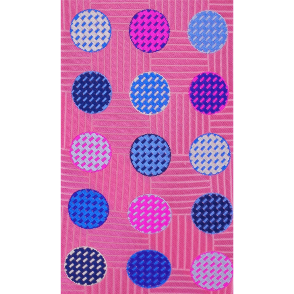 Van Buck Limited Edition - Pink Polka Dot Design Tie