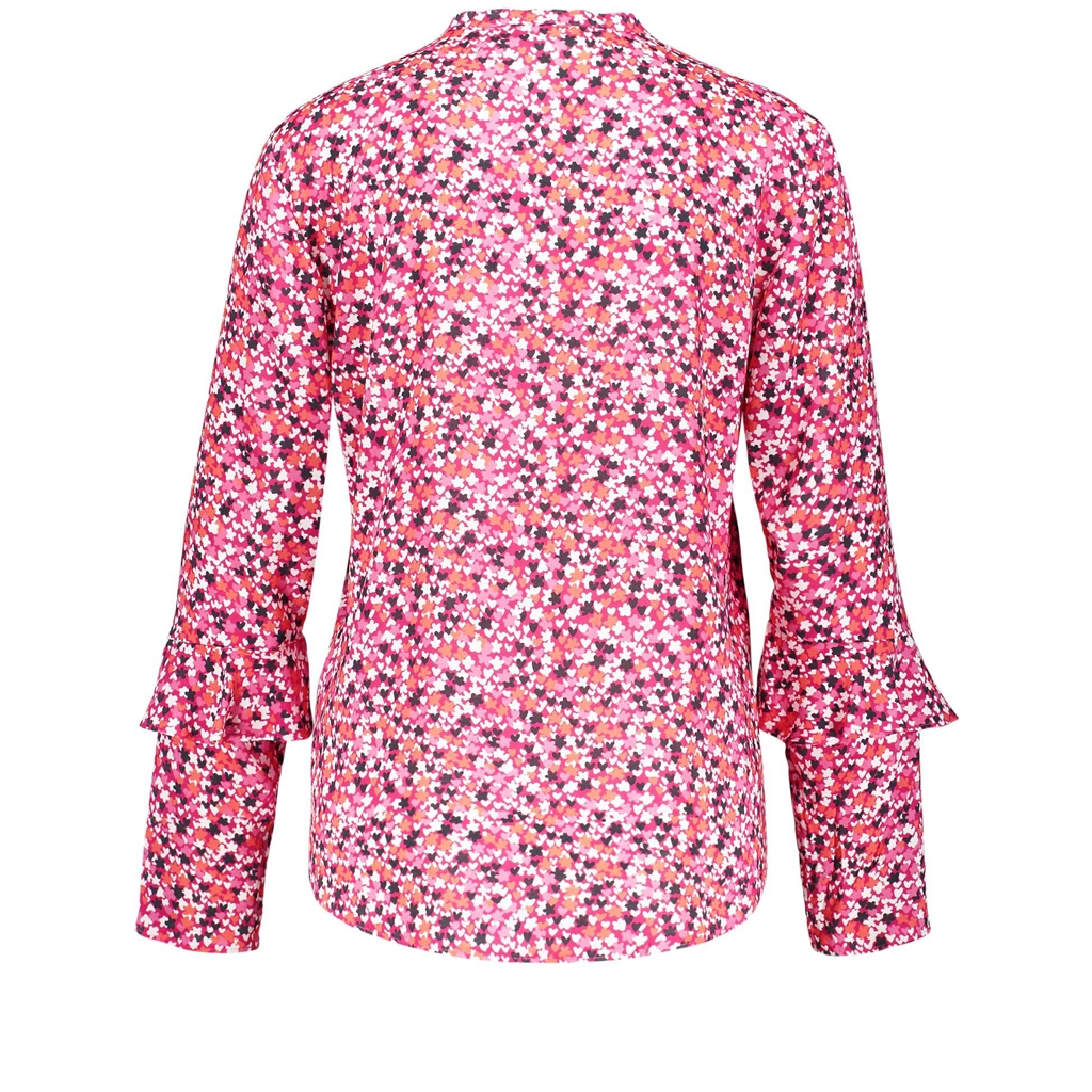 New 2018 Gerry Weber Blouse With Minimalist Pattern - Pink