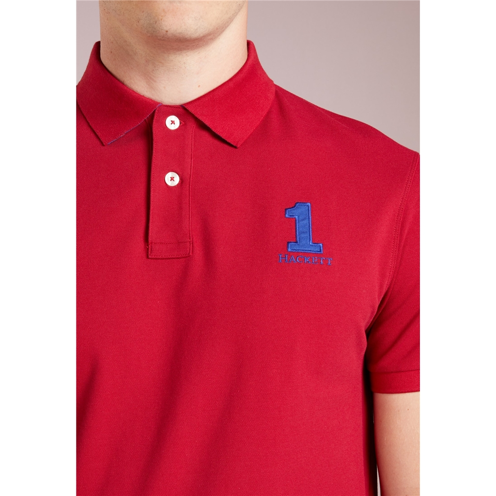 New 2018 Hackett New Classic Polo - Red