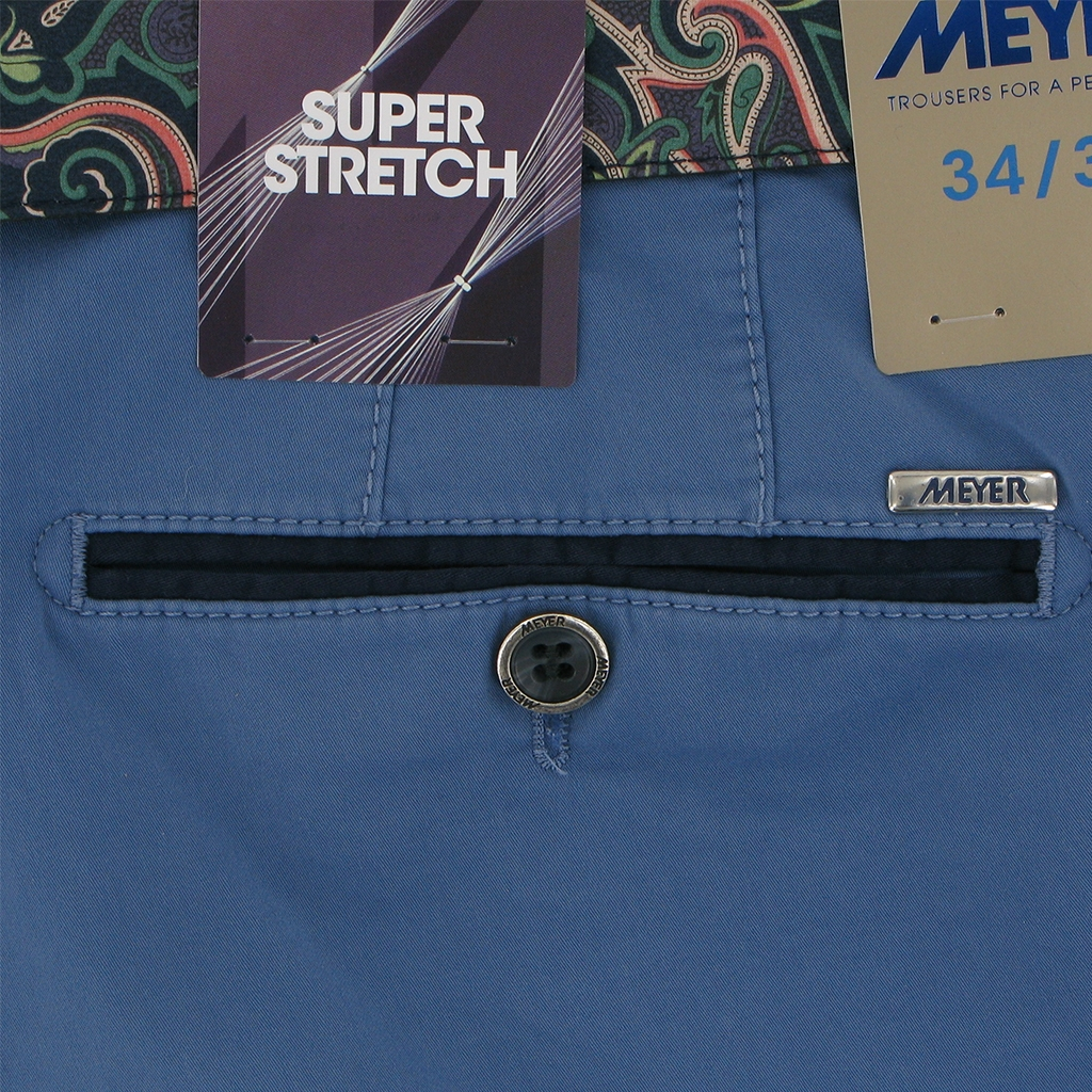 Meyer Shorts Cornflower  - Palma B 5003 15