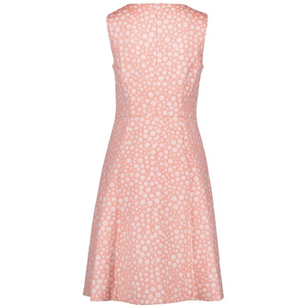 New 2018 Gerry Weber Textured Cocktail Dress - Coral
