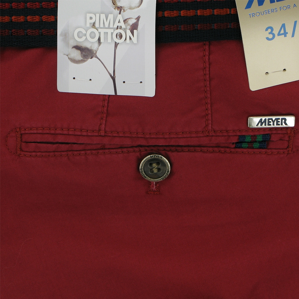 "Meyer Shorts Red  - Palma B 3116 55 - 36"" Waist Only"
